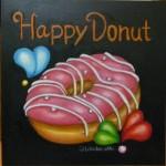ドーナツ,happy