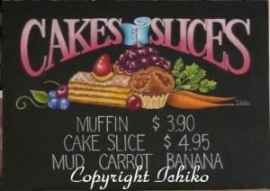 ケーキ&スライス