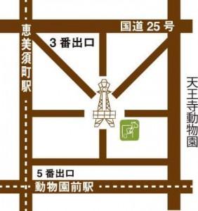 Gallery Cafe*Kirin* map