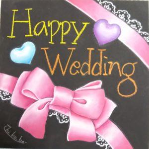 Wedding リボン