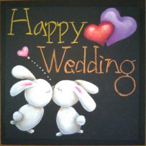 Wedding うさぎ